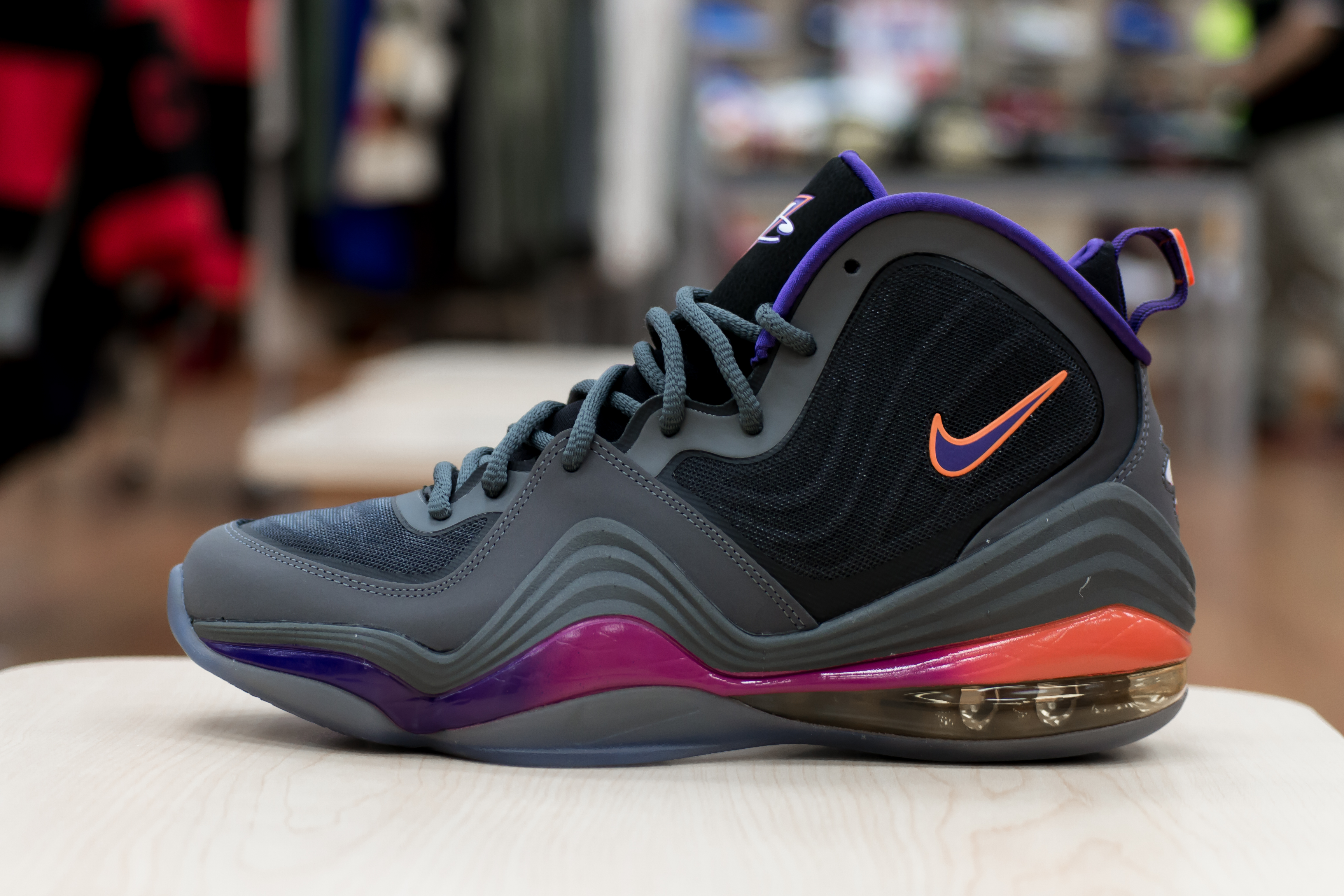 new style bc38b fdc5b Having played for the Phoenix Suns from 1999 to 2004, Penny Hardaway is set  to see a Dark Grey Black-Rave Pink-Court Purple colorway of his signature  Nike ...
