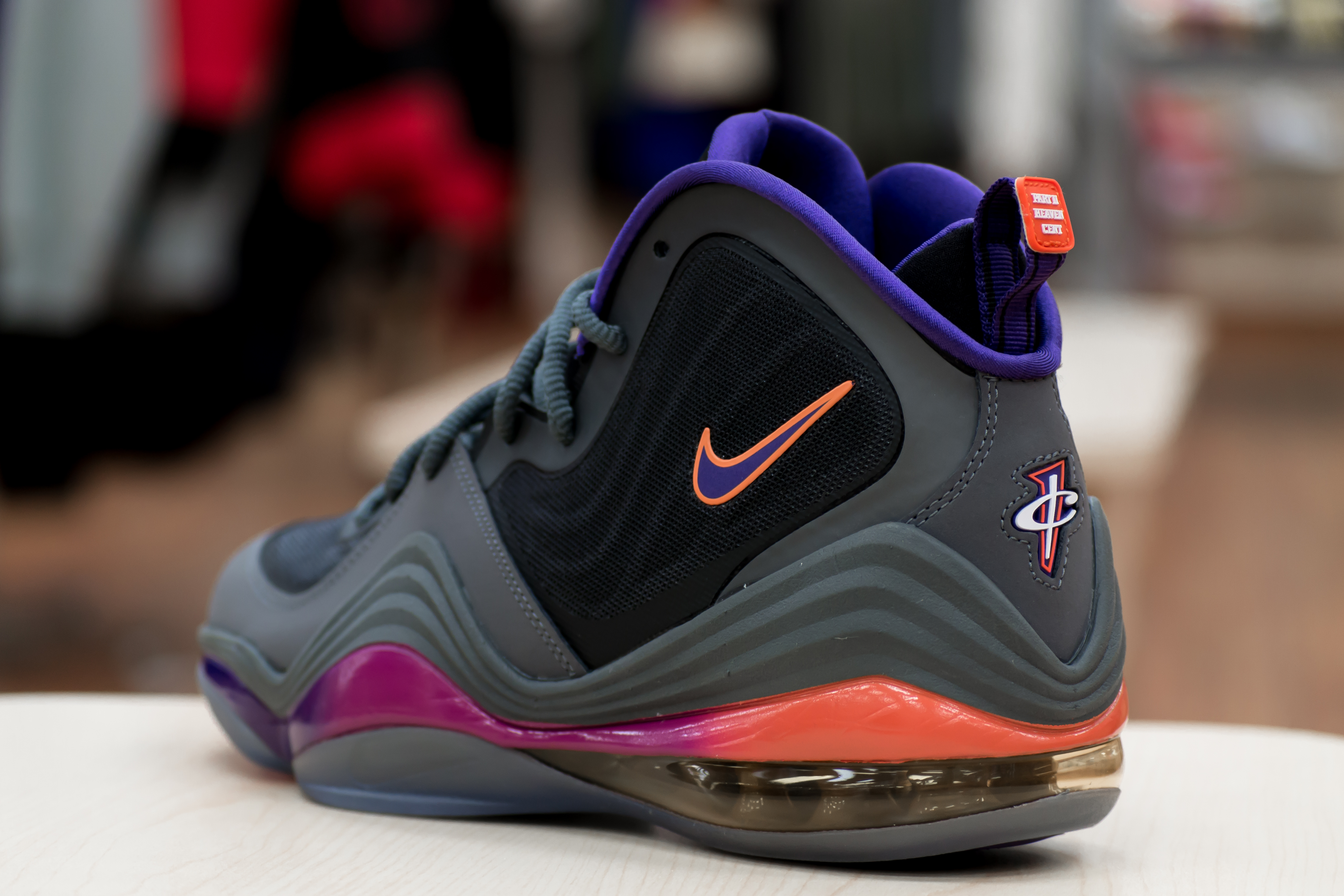 new style e2101 6de5d Having played for the Phoenix Suns from 1999 to 2004, Penny Hardaway is set  to see a Dark Grey Black-Rave Pink-Court Purple colorway of his signature  Nike ...